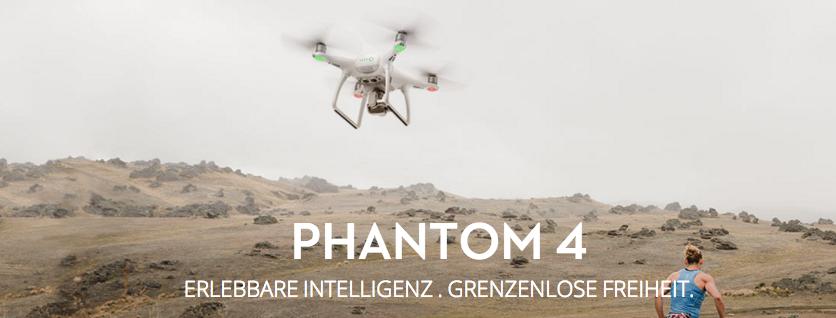DJI Phantom 4 – der neue Überflieger