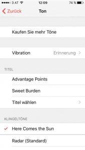 iphone ios mp3 als wecker schritt 3