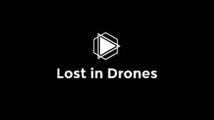 lost in drones logo schwarz