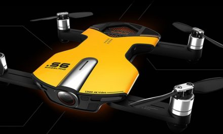 4K Mini Drohne Cnlight Wingsland S6 Drohne im Taschenformat