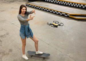 dji spark 1 - selfie gesten steuerung - lostindrones