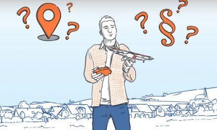 Wo darf ich mit der Drohne fliegen? Drone Space App gibt Antworten