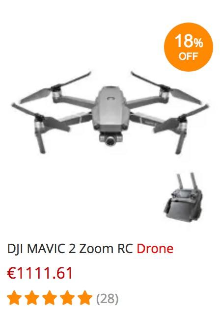 DJI Mavic 2 Zoom - gearbest black friday angebot schnäppchen billiger