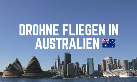Drohne fliegen in Australien