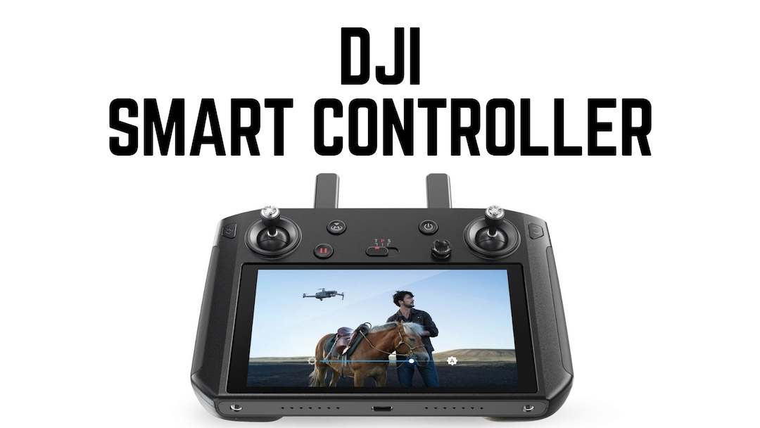 DJI Smart Controller mit integrierten Bildschirm