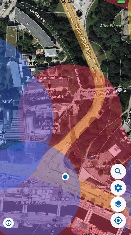 map2fly app karte 2 drohnen flug in deutschland k