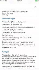 map2fly app karte 4 k drohnen flug in deutschland
