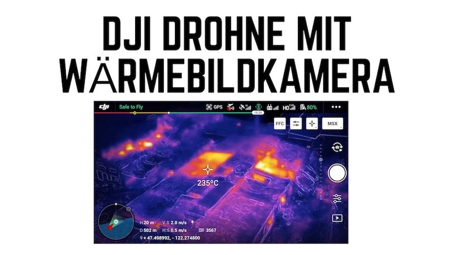 DJI Drohne mit Wärmebildkamera - DJI mavic pro 2 enterprise dual