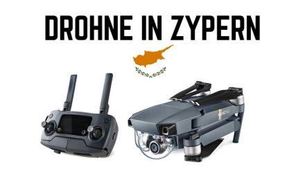 Drohne im Zypern Urlaub
