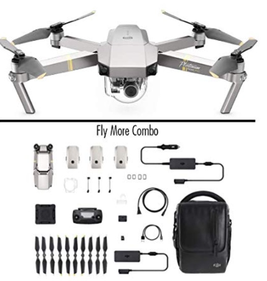 DJI Mavic Pro Platinum - Fly More Combo - Amazon Prime Deal 2019