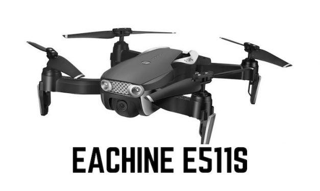 Eachine e511s – Preiswerte Drohne als Mavic Air Klon