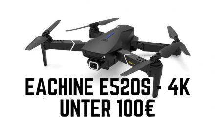 Preiswerte Eachine Drohne E520S in 4K oder 1080P Version