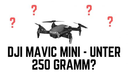 DJ Mavic Mini – Gerüchte und Spezifikationen