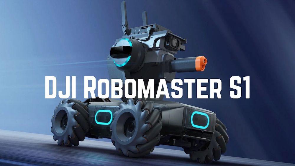 DJI Robomaster S1 – Lernroboter mit vielen Funktionen
