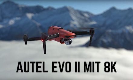 CES 2020 – Erste 8K Drohne von Autel vorgestellt