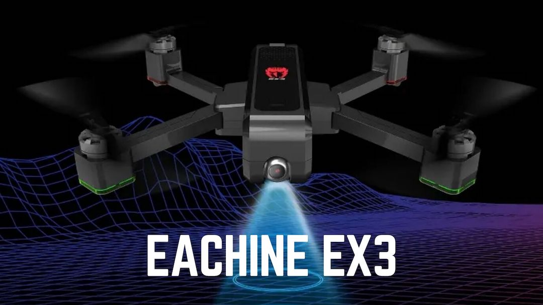 Eachine EX3 – neue faltbare 2k Mini Drohne